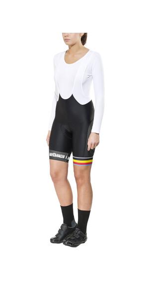 Bioracer Van Vlaanderen Pro Race Bib Dam svart
